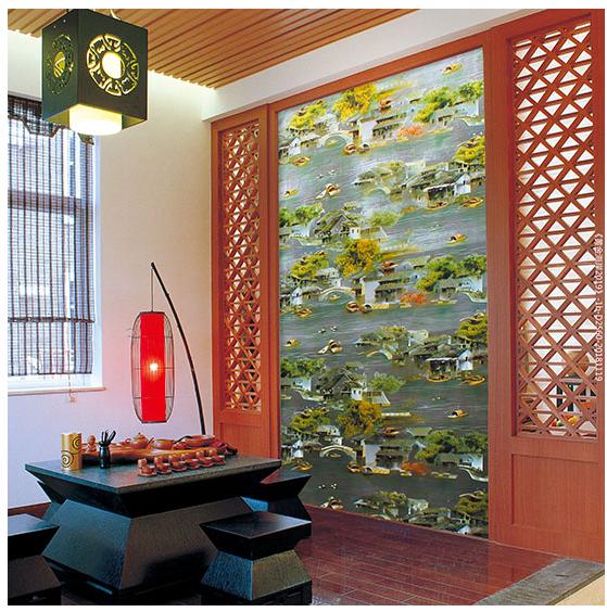 墙纸,铸就品质生活 是家装材料也是艺术品