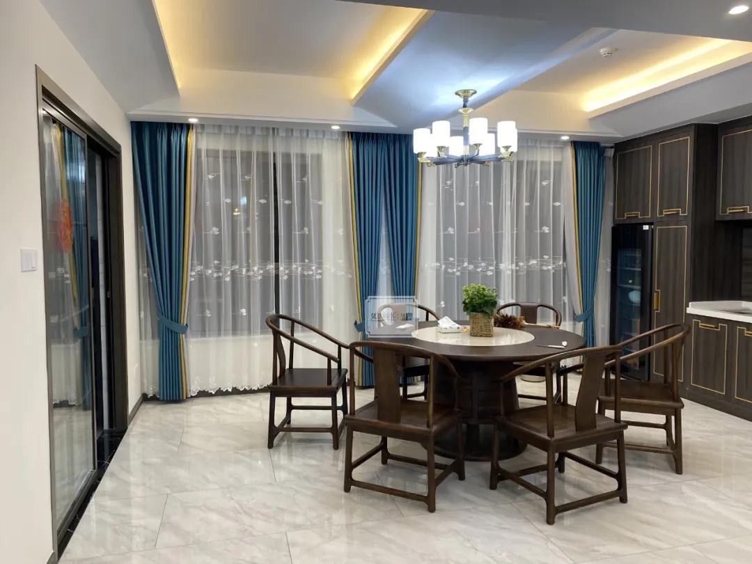 窗帘,是一个家里最美的软装