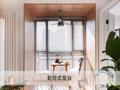 新帝豪门窗:为什么越来越多业主都选择封闭式阳台?