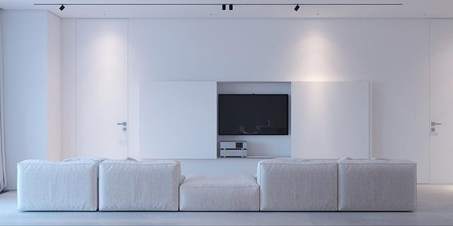 电视墙有哪些设计方法?简简单单又经久耐看的3种电视墙设计方法