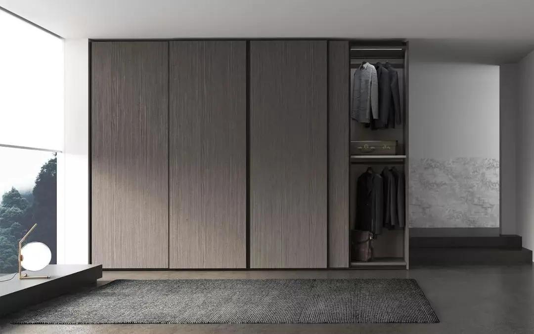 风格多样化的轻奢极简衣柜设计大全
