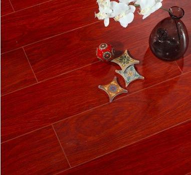 多层实木厂家直销 15mm实木地板耐磨防滑